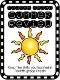 Fourth Grade Summer Review Packet - Print and Go!