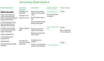 Fourth Grade Technology Curriculum Guide