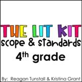 Fourth Grade The Lit Kit Scope & Standards