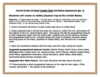 The Us Geography Project Project Based Learning Activities