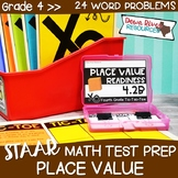 Fourth Grade Value of Digits Math Test Prep Review Game |