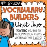 Fourth Grade Vocabulary Builders Unit 2