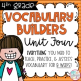 Fourth Grade Vocabulary Builders Unit 4