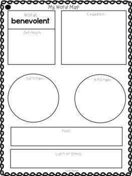 Fourth Grade Vocabulary Unit 1