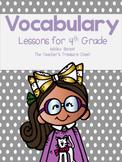 # Fourth Grade Vocabulary Unit 1