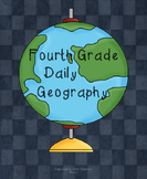 Fourth Grade Weekly Geography