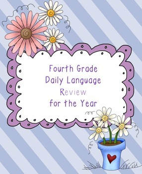 Fourth Grade Daily Language Review