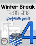 Fourth Grade Winter Break Packet
