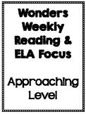 Fourth Grade Wonders Weekly Focus Bundle