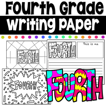 Fourth Grade Writing Coloring Pages First Day of School