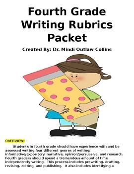 Fourth Grade Writing Packet