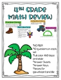 Fourth Grade Year End Math Review