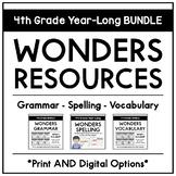 2017 Fourth Grade Year-Long Wonders BUNDLE