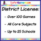 Fourth Grade Yearly District License
