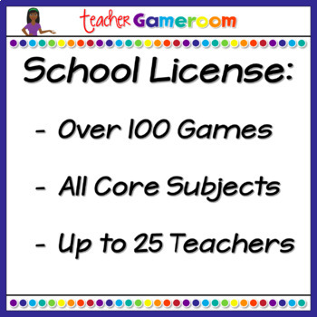 Fourth Grade Yearly School License