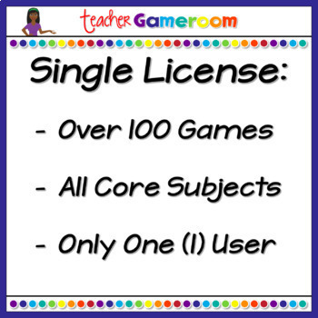 Fourth Grade Yearly Single License