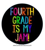 Fourth Grade is My Jam! Artwork