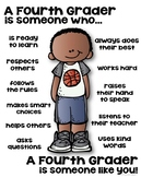 Fourth Grader Poster - [someone who]