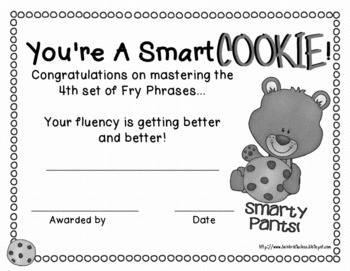 Fourth Hundred Fry Phrases Fluency Games and Intervention Set