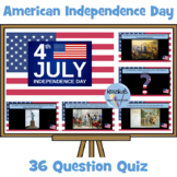 Fourth July (4th July) - Independence Day 32 Question Powe