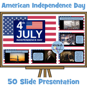 Fourth July - The United States of America Independence Day Presentation