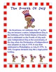 Fourth Of July Activity Book: Primary Grades
