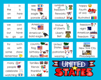 Fourth Of July PowerPoint Presentation-2 Rdg. Levels &15 Songs/Poems-Sing Along!