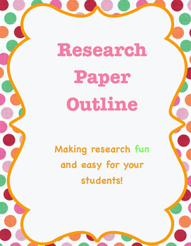 Fourth grade research outline with topic ideas