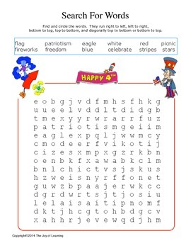 Fourth of July Activity Fun