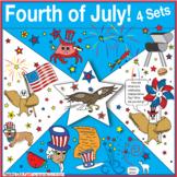 Fourth of July – 4 Set Puzzle Bundle