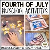 Preschool Fourth of July Activities