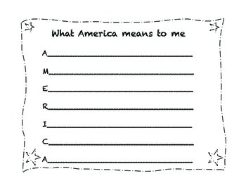 3rd Grade Fourth of July Activity Pack