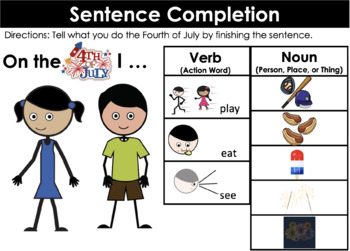 Fourth of July Interactive Book