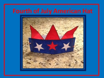 Fourth of July American Hat