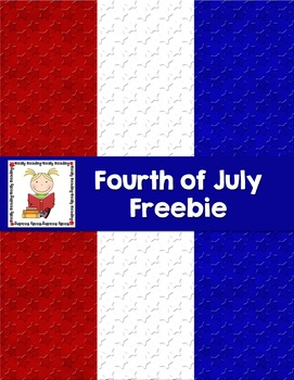 Fourth of July Background Papers Freebie