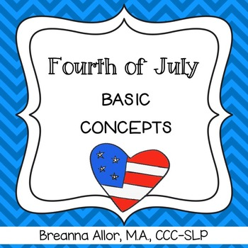Fourth of July Basic Concepts
