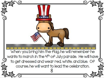 4th of July literacy and math activities