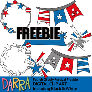 Fourth of July Clip art Free