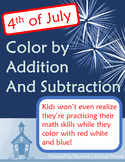 Fourth of July Color by Number