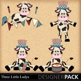 Fourth of July Cows