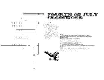 Fourth of July Crossword