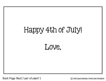 Fourth of July Card Craft