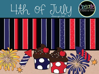 Fourth of July - Digital Clipart