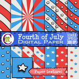 Fourth of July Digital Paper