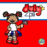 Fourth of July File Folder Game
