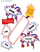 Fourth of July Firecracker Craft with Fireworks History