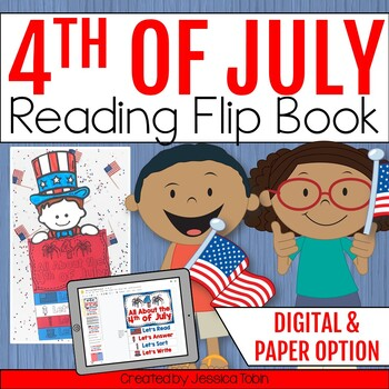 Fourth of July Flip Book
