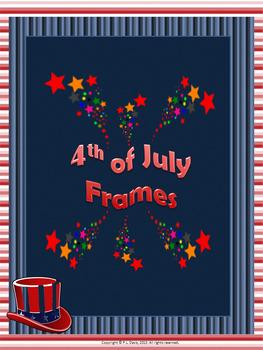 Fourth of July Frames