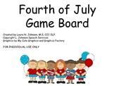 Fourth of July Game Board Freebie