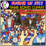 Fourth of July Game Boards Clipart